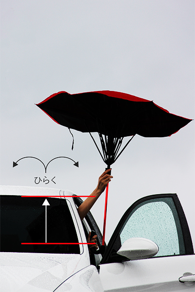 Gax Umbrella - Animate - technology_usability-photo03