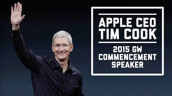 "Watch Tim Cook's Speech ""Don't Spend Your Life on the Sidelines!"""