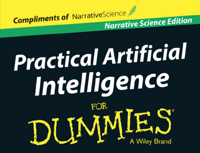 Free Dummies Book:【Practical Artificial Intelligence for Dummies】