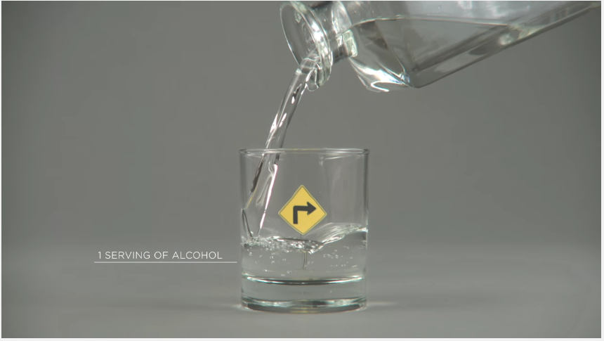 Witty Drunk-Driving Ad uses Optical Illusion to Show How Alcohol Impairs Your Vision