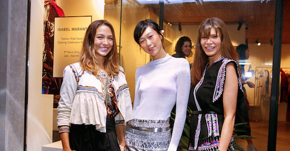 Isabel Marant – New Store Opening at Fashion Walk