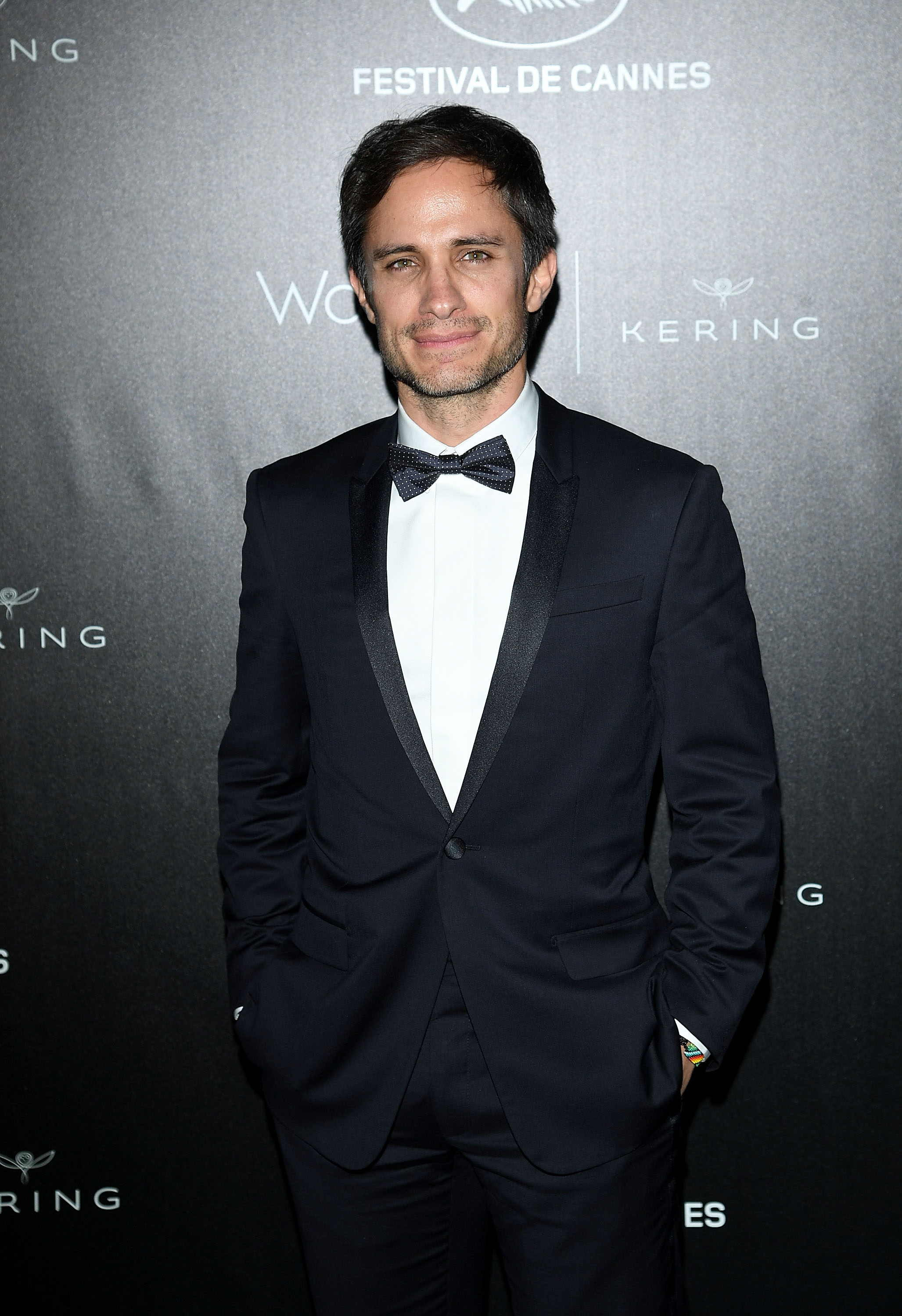 CANNES, FRANCE - MAY 15: Gael Garcia Bernal attends the Kering And Cannes Film Festival Official Dinner at Place de la Castre on May 15, 2016 in Cannes, France. (Photo by Venturelli/Getty Images for Kering)