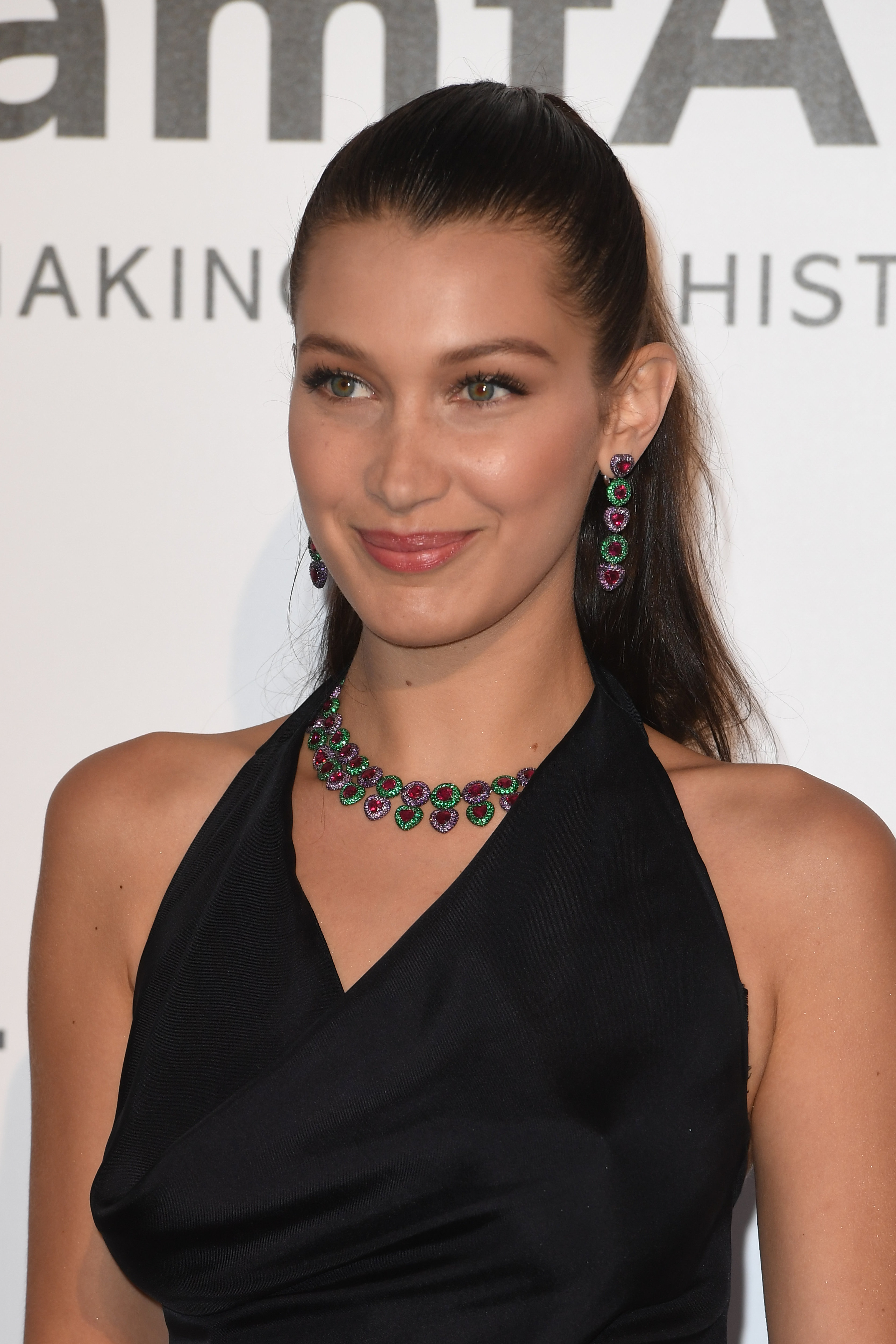 CAP D'ANTIBES, FRANCE - MAY 19:  Bella Hadid attends the amfAR's 23rd Cinema Against AIDS Gala at Hotel du Cap-Eden-Roc on May 19, 2016 in Cap d'Antibes  (Photo by Venturelli/WireImage)